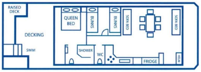 Just Chillin Layout Plan